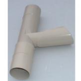 Υδρορροές PVC