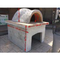 Φούρνος παραδοσιακός για ξύλα διαμέτρου Φ80cm