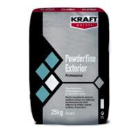 Kraft Powderfine Exterior Στόκος Σπατουλαρίσµατος Λευκός (Σακί 25kg)