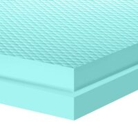 FibranXPS Etics GF Γκοφρέ Θερμοπρόσοψης (Διάσταση Φύλλου 1m x 0,6m)