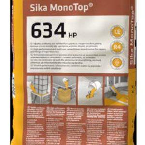 Sika MonoTop®-634 HP χυτεύσιμο κονίαμα μεγάλου πάχους (Σακί 25kg)