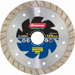 Διαμαντόδισκος Clean Cut Benman Φ125 X 2,2 X 10mm