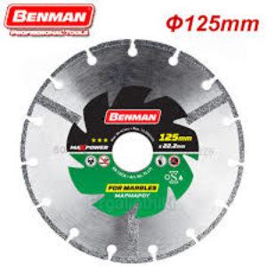 Διαμαντόδισκος Μαρμάρου Benman MaxPower Φ125 X 2,0