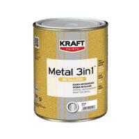 Kraft Metal 3 in 1 Metallized Gloss Γυαλιστερό (Δοχεία 750ml)