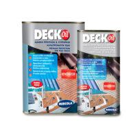 Mercola Deck Oil Renovator Καφέ Ανοικτό (900ml+100ml - 2,5ml & 19lt)