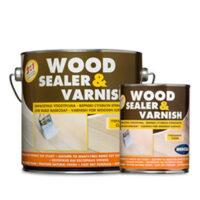 Mercola Wood Sealer & Varnish (750ml & 2,5lt)