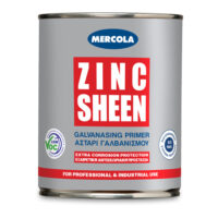 Mercola Zinc Sween αστάρι - χρώμα ψυχρού γαλβανισμού (Δοχεία 375 & 750ml)